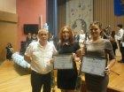 Участие в церемонии награждения членов экологического молодежного отряда