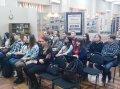 Участие в заседании клуба  «Патриот» на базе краеведческого музея , тема: «Четыре года войны генерала Жданова»