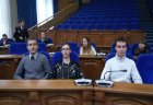 Встреча молодых и будущих избирателей города с молодыми  депутатами Совета депутатов города Белгорода на тему: