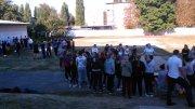 Проведен день здоровья в котором приняли участие первокурсники. Ребята состязались в беге, подтягивании, отжимании, прыжках на скакалке и др. Победили сильнейшии!