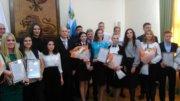 Состоялась торжественная церемония награждения лауреатов ежегодной стипендии Губернатора Белгородской области молодежному активу.