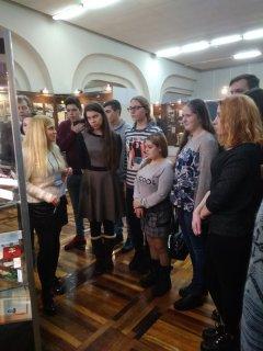 Обучающиеся приняли участие во внеклассном мероприятии, посвящённом Дню неизвестного солдата, подготовленного сотрудниками Белгородского историко-краеведческого музея